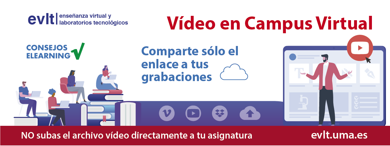 Vídeo y Campus Virtual